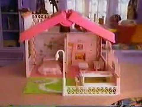 barbie haus koffer