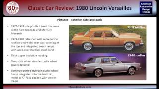 Those-80s-Cars Review: 1980 Lincoln Versailles