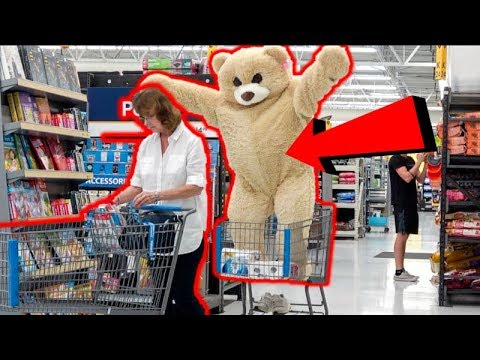 GIANT TEDDY BEAR SURPRISE Valentines Day PRANK!!! thumbnail