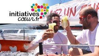 Arrivée à Itajaí du bateau Initiatives-Coeur | Transat Jacques Vabre 2013