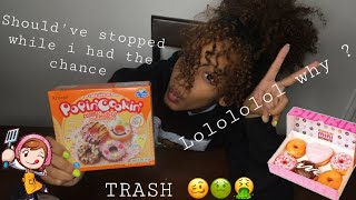 """I MADE """"DONUTS"""" OUT OF POWDER AND WATER .... LOLOLOL POPPIN COOKIN WYD?"""
