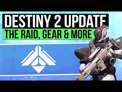 DESTINY 2 NEWS   New Raid Details, Exotics, Raid & Trials Gear Lore, Reset Day & Warmind DLC!