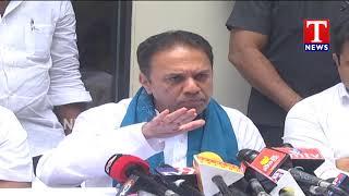 EX Speaker Suresh Reddy Press Meet - Hyderabad  live Telugu - netivaarthalu.com