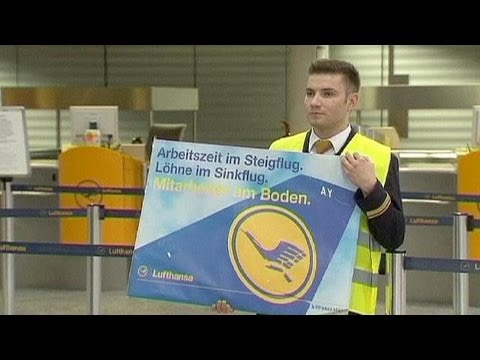 Lufthansa cancels flights in pay dispute walkout
