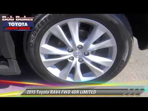 New 2015 Toyota Rav4 Limited Near San Diego La Mesa