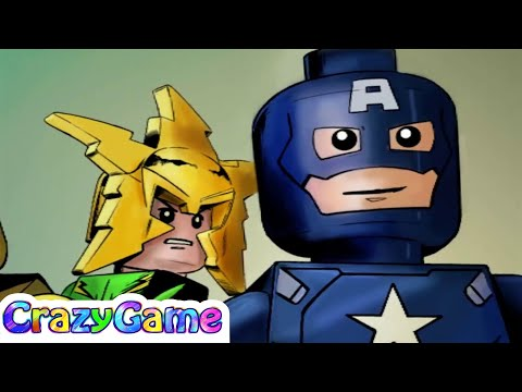 #LEGO Marvel Super Heroes 100% Guide #19 A Shock Withdrawl (Red Brick, Stan Lee, etc)