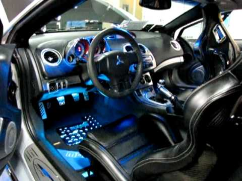the gallery for custom mitsubishi eclipse interior. Black Bedroom Furniture Sets. Home Design Ideas