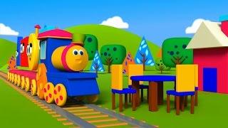 Bob il treno – Costruendo con le forme | bob i blocchetti di costruzione treno | Bob The Train