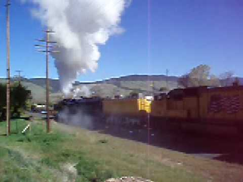 Union Pacific Passenger Steam Train, La Grande, Or. May 2007