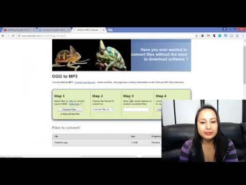 How To Convert .OGG File to .MP3 For Free, Without Downloading Software