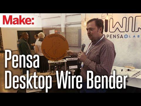MAKE @ Engadget Expand 2014: Pensa - Wire Bender