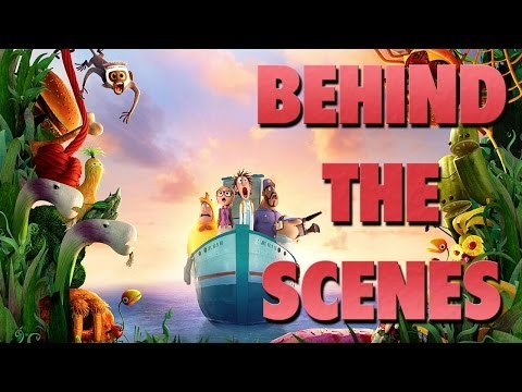 Behind The Scenes Cloudy With A Chance Of Meatballs 2