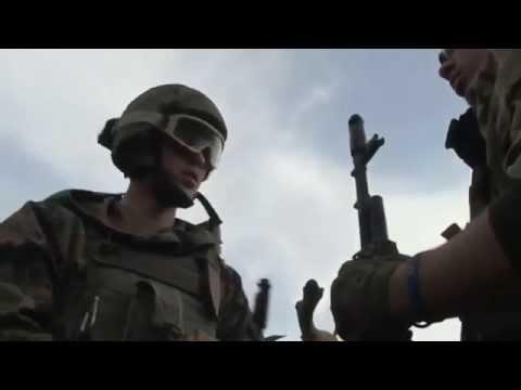 War in Ukraine, Donbass, Shyrokino today. Battle
