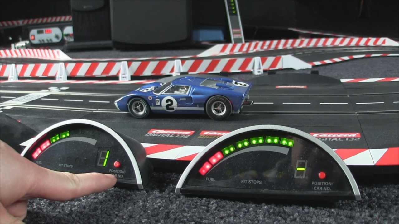 Carrera Digital 1:24 - Tutorial 13 - Driver Display - YouTube