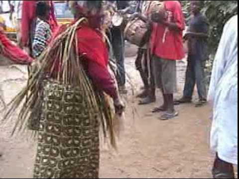 Egungun, Lagos, Nigeria, 2007.mpg video