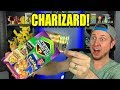 ULTRA RARE CHARIZARD POKEMON CARD Inside A MYSTERY POWER BOX OPENING!