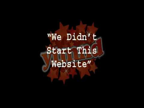 We Didn't Start This Website (YTMND)