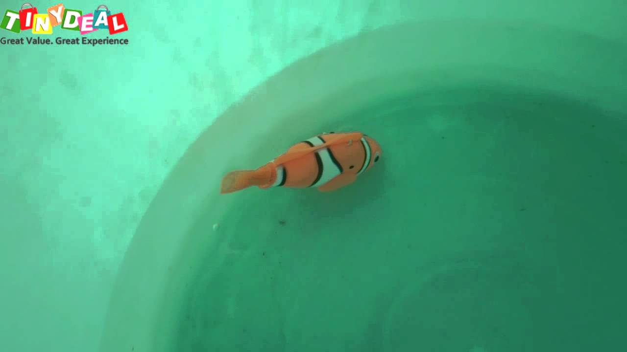 Electronic swimming fish toy funny toy from tinydeal for Fake fish that swim