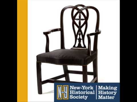 George Washington's Inaugural Chair (403) | New-York Historical Society