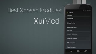 Change all System Animations: XuiMod