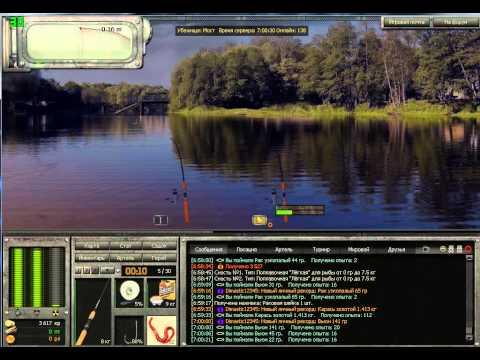как ловить на блесну в atom fishing
