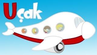U Harfi - ABC Alfabe SEViMLi DOSTLAR Eğitici Çizgi Film Çocuk Şarkıları Videoları
