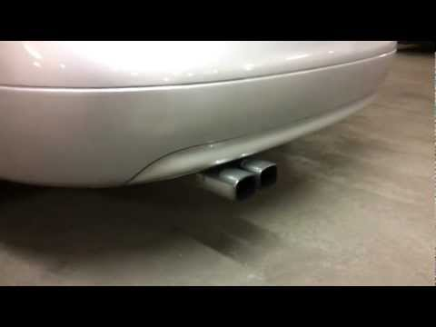 Audi A6 c5 2.5 v6 tdi modified exhaust system . On 20