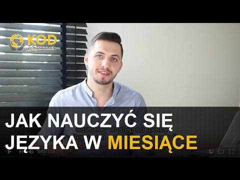 Jak Nauczyć Się Języka W Miesiące (złota Wskazówka) / Kamil Kaszubski Mówi Po Angielsku