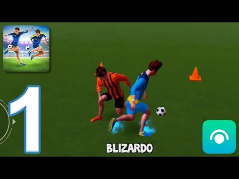 SkillTwins Football Game - Gameplay Walkthrough Part 1 - Levels 1-10 (iOS, Android)