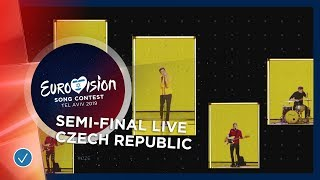 Czech Republic - LIVE - Lake Malawi - Friend Of A Friend - First Semi-Final - Eurovision 2019
