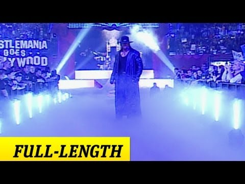 The Undertaker's Wrestlemania 21 Entrance video