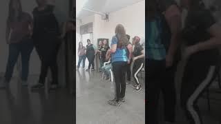 Las chicas se lucen actuando - ESCUELA BUTERA - JORNADAS 2019