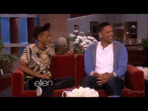 THE BEST OF WILL SMITH AND JADEN 2013 INTERVIEW AT ELLEN'S SHOW HD
