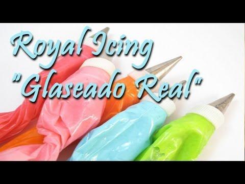 Cómo hacer Glaseado Real // Royal Icing . ¡Muy fácil, rápido y rico!