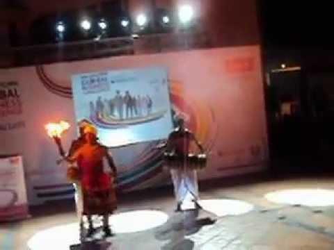 Colors Of Sri Lanka- Cima Gbc 2012 (fire Dance) video