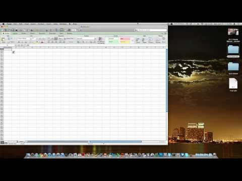 Microsoft Office Excel Mac 2011 Review