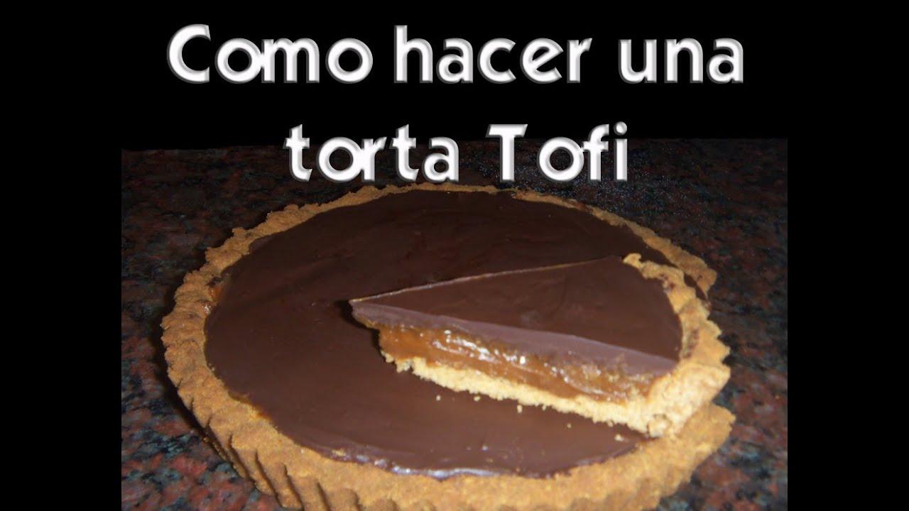 Como hacer una tarta tofi super facil youtube for Como hacer una terraza techada