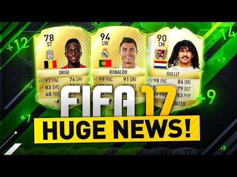 HUGE FIFA 17 NEWS!!