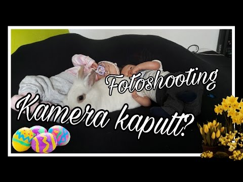 Vlog | Kamera kaputt | Fotoshooting | Frohe Ostern! || Reborn Baby Deutsch