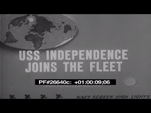 USS Independence Joins The Fleet - CV-22, WWII 26640c