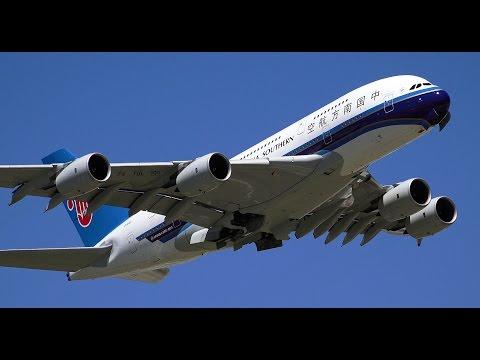 China Southern A380-800 Take Off - Sydney to Guangzhou