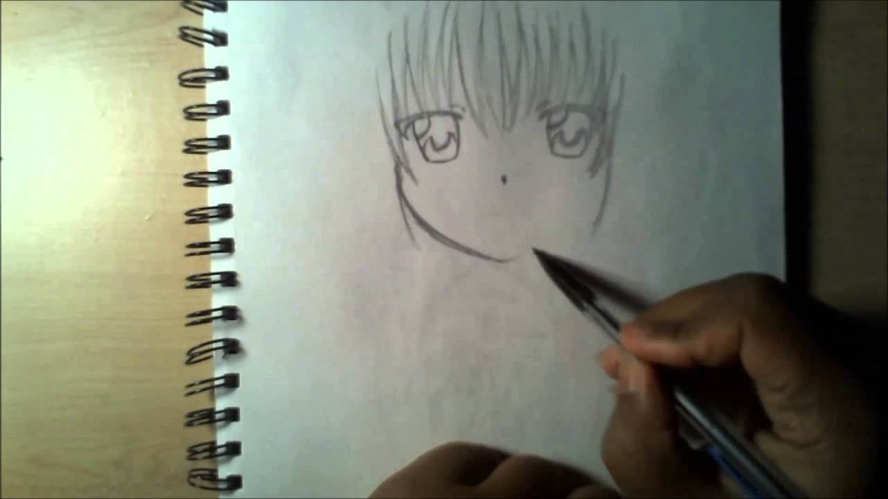 Cute Anime Faces Drawing Drawing a Cute Anime Girl
