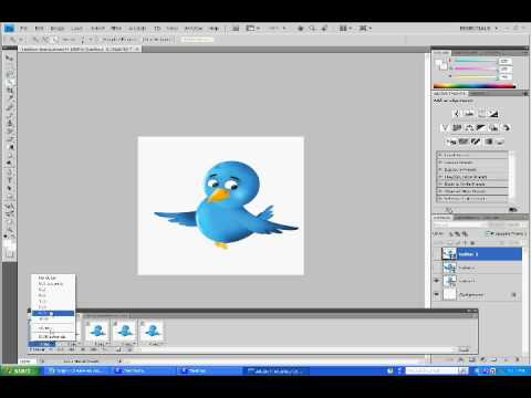 How to Create Animated GIFs in Photoshop CS4: Video Tutorial Video