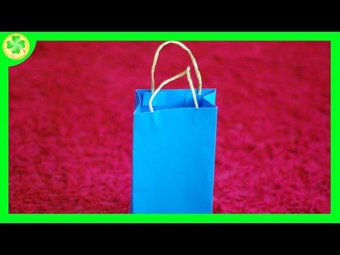 Jak Zrobić Papierową Torbę Prezentową / How To Make A Paper Gift Bag