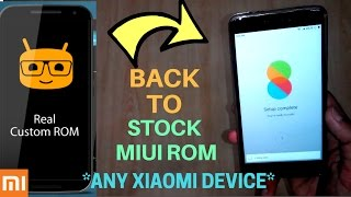 How To Get Back To MIUI Stock ROM on Redmi Note 4 (Without PC)TWRP |Install MIUI 8.2 ON Redmi NOTE4