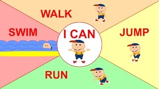 I Can | Simple Song for Children Learning English