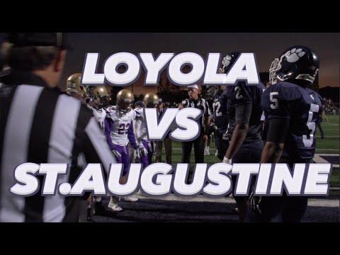 Loyola (CA) v St Augustine (CA) - UTR HighlightMix 2014