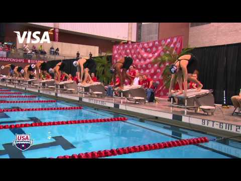 Women's 100m Freestyle B Final - 2012 Columbus Grand Prix