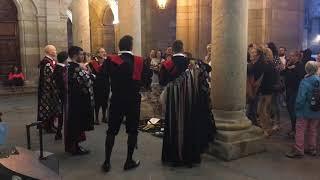 Mariachi music at Praza do Obradoiro in Santiago de Compostela, Spain