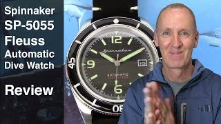 This Watch Scares Seiko! | Spinnaker SP 5055 Review